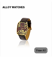 alloy jewellery watches